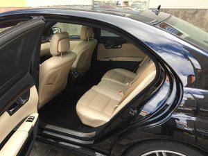 Mercedes S class salons