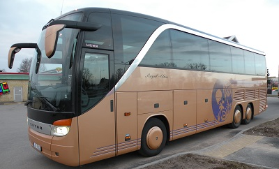 Charter bus hire in Riga, Latvia