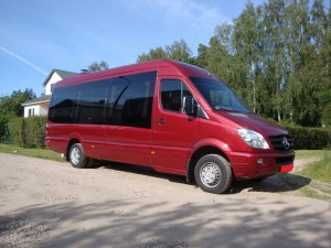 Bus rental in Riga - Sprinter day rent