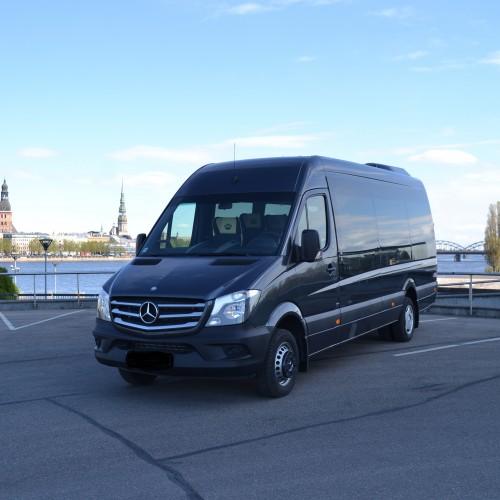 Minibus transfer from Riga to Jurmala