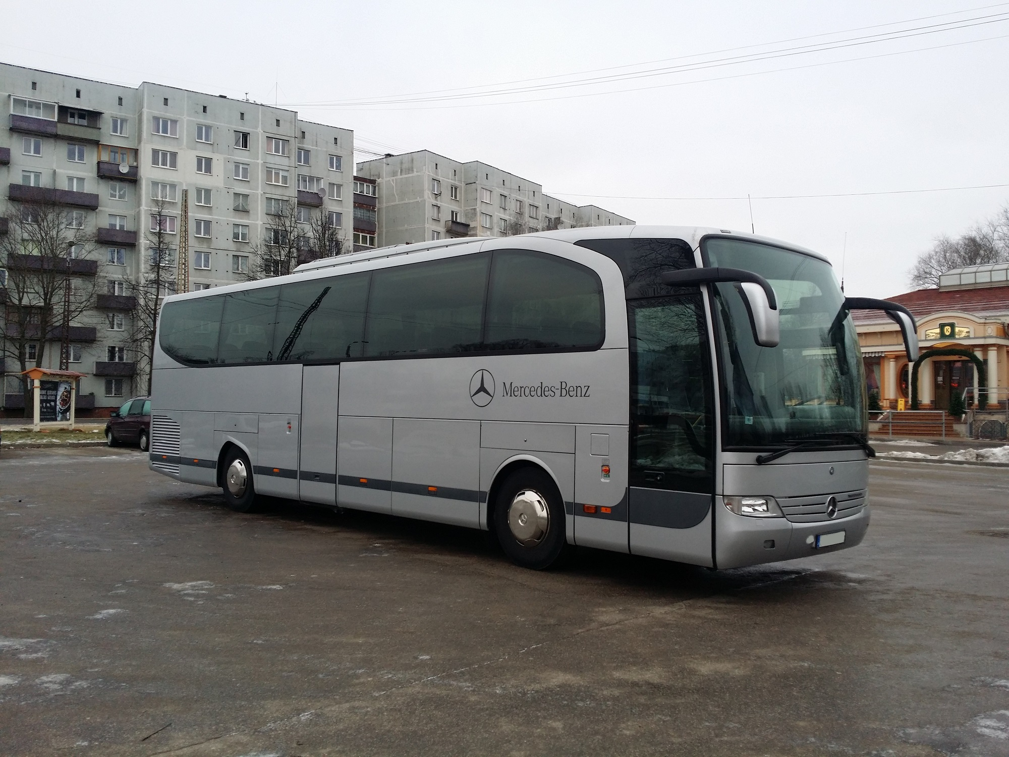 Mercedes benz forty seater riga transfers services for Mercedes benz minibus rental