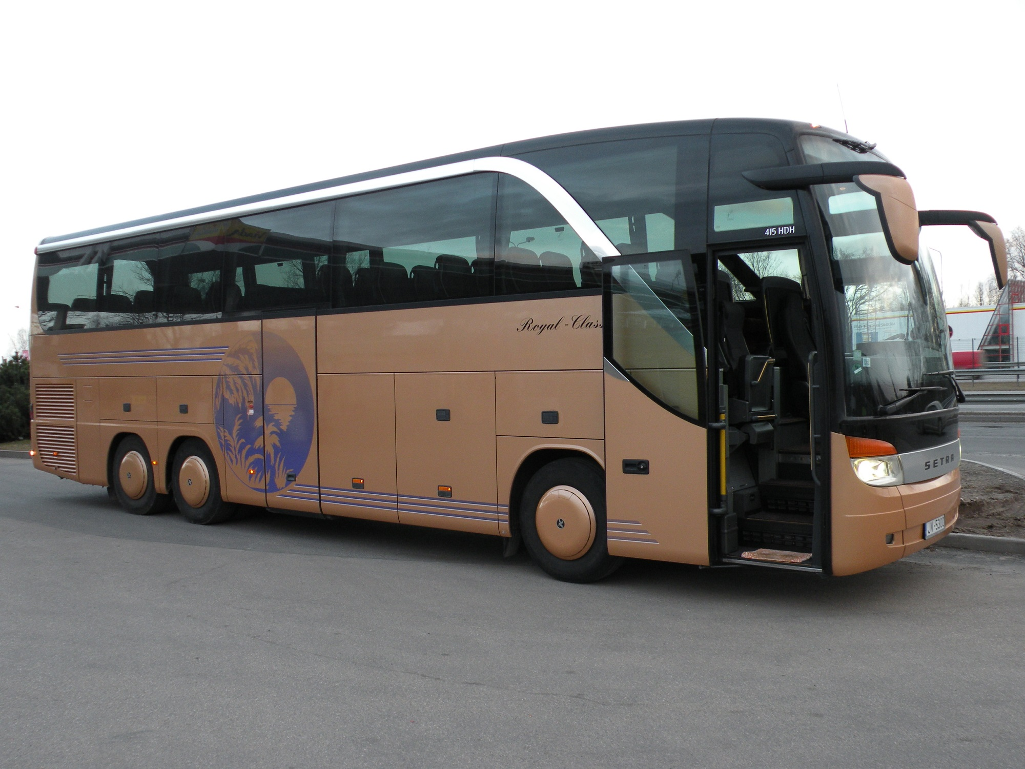 Setra bus rental service