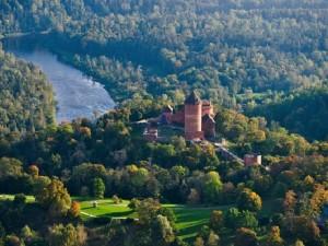 Turaida castle tour