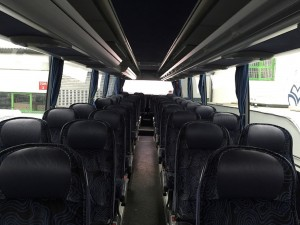 Mercedes Benz bus rental service