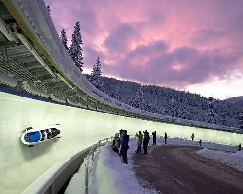 Day trip to Sigulda bobsleigh track